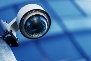 CCTV taking a surveillance video