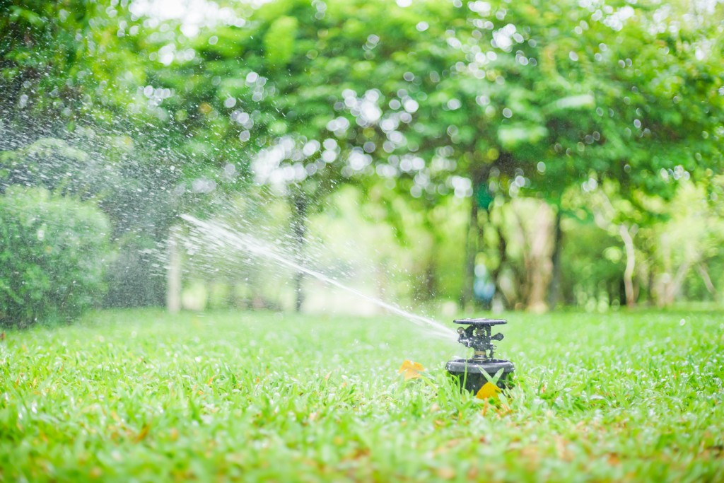 Residential water sprinkler