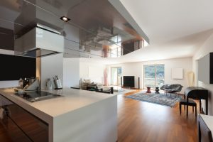 home with beautiful flooring