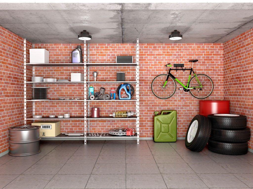Organised residential garage
