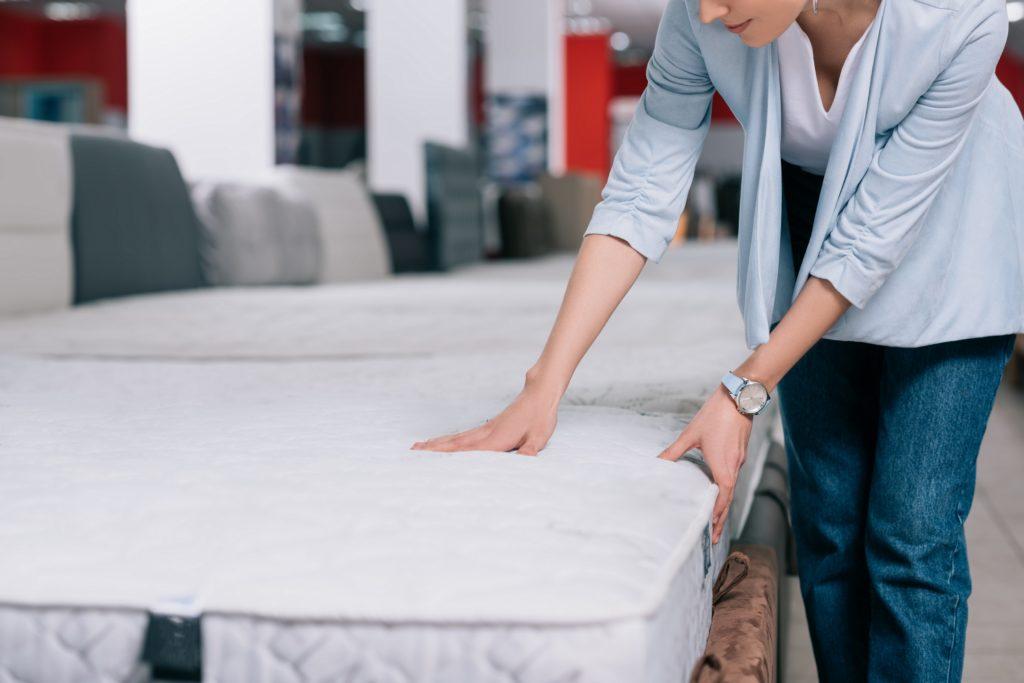 a soft mattress