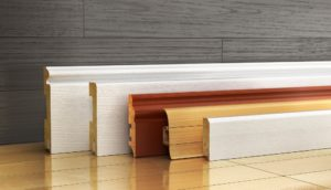 a couple of baseboards