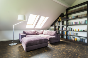 Loft conversion interior