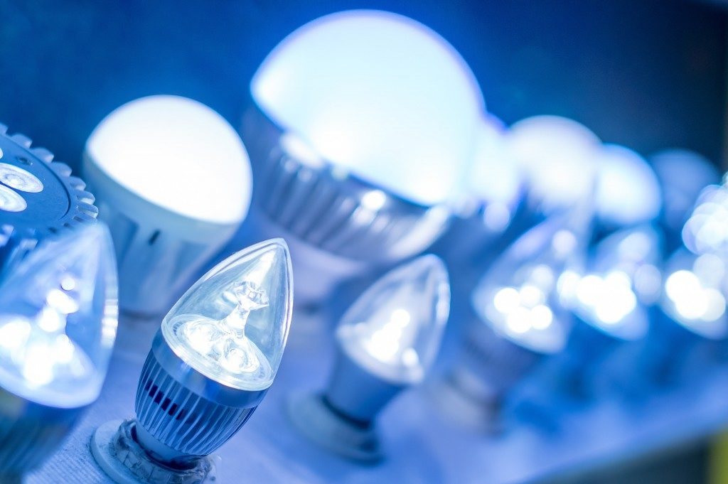 Different types of LED light
