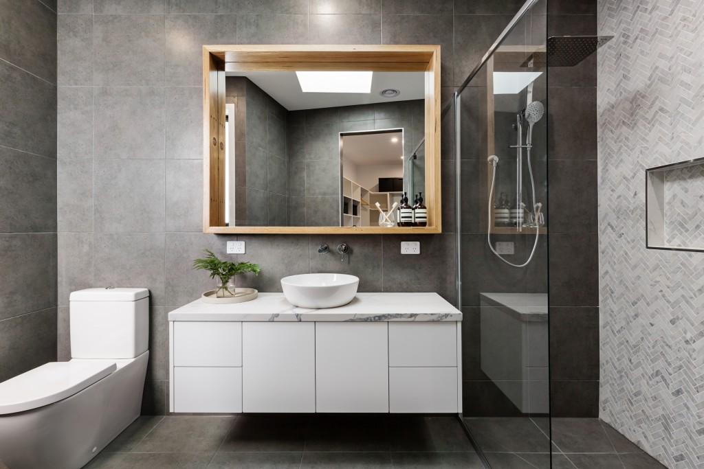 small bathroom interior