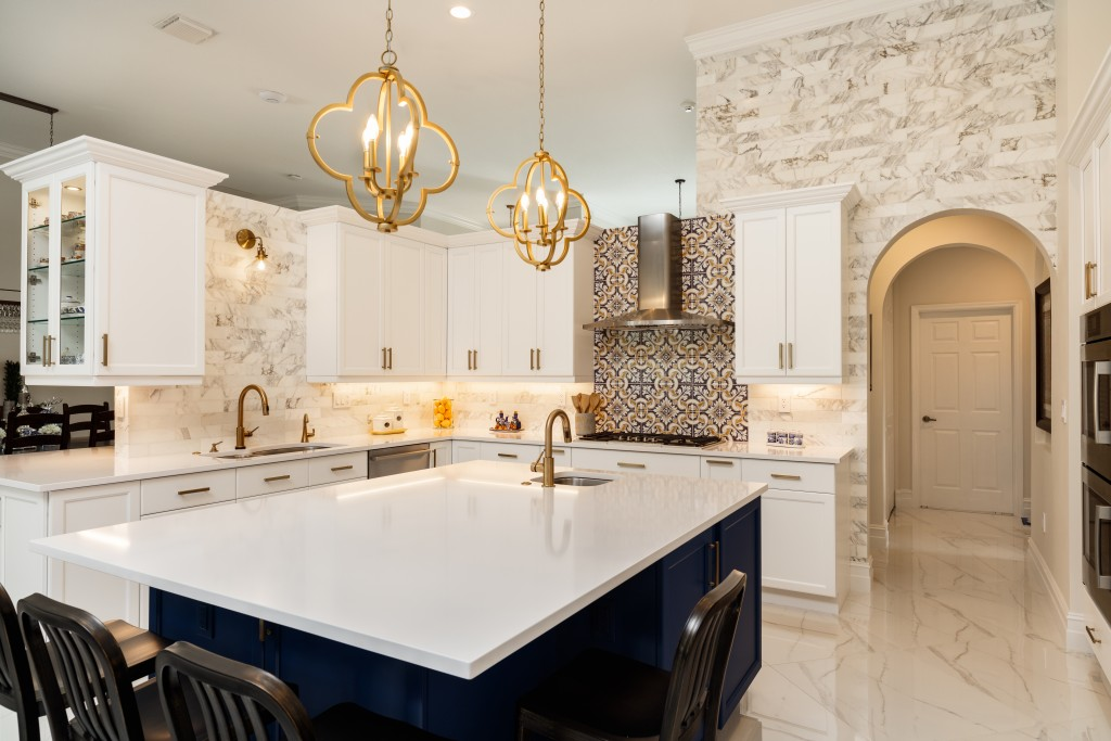 modern fancy kitchen